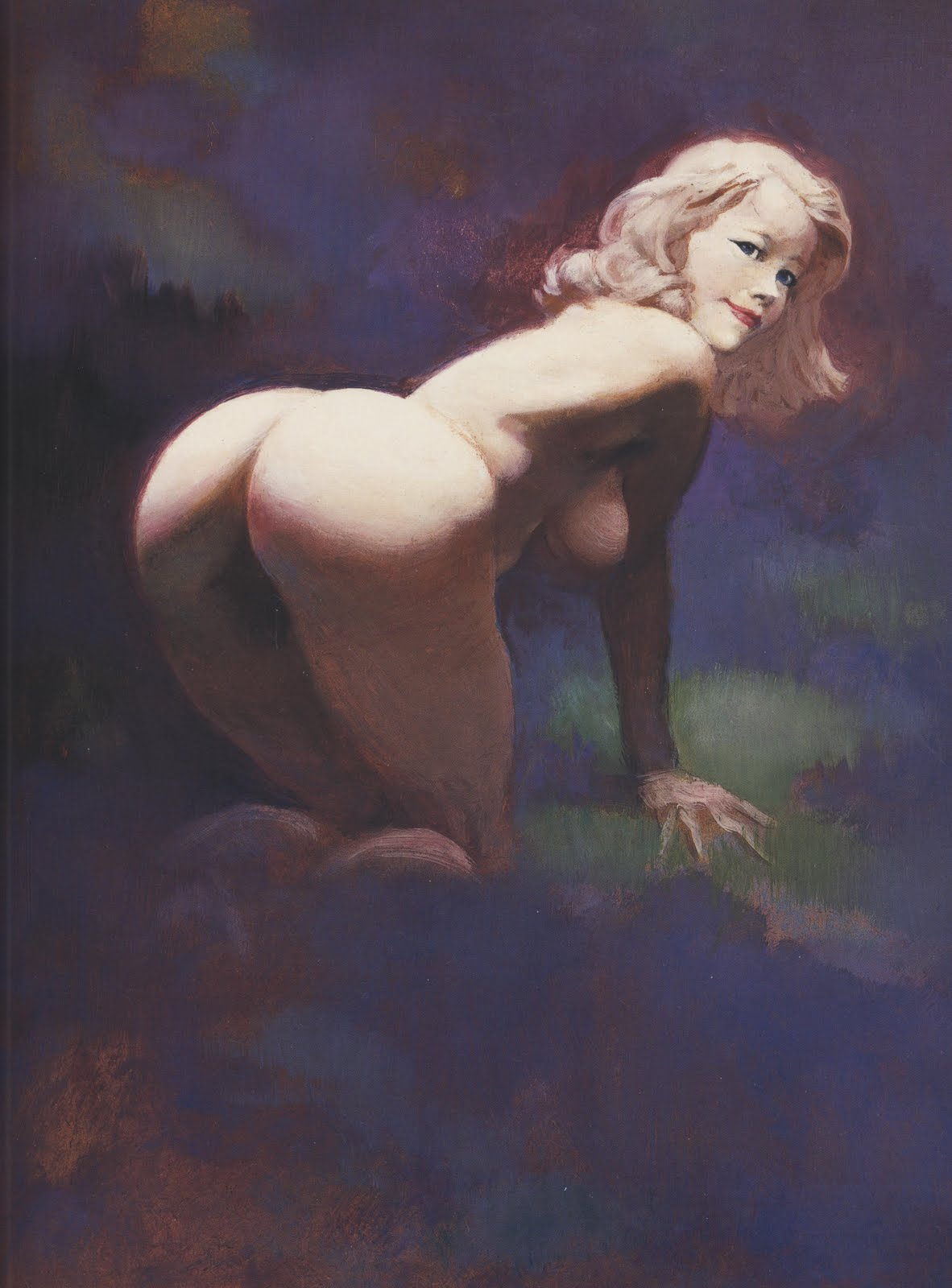 Paintings women nude