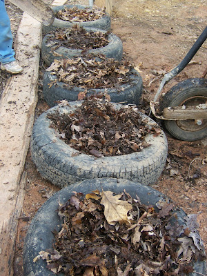How to Grow Potatoes Using Tires | Garden Guides
