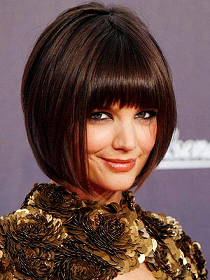 katie holmes hair 2009. katie holmes hair