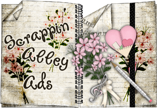 Scrappin Alley Ads