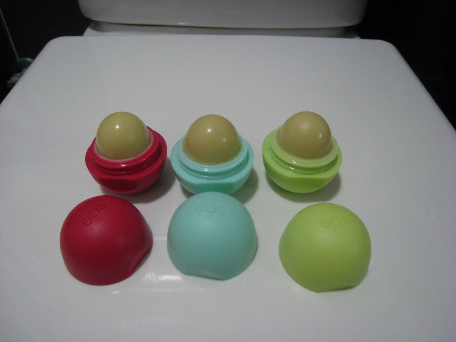 Beauty Blog: EOS Lip Balm