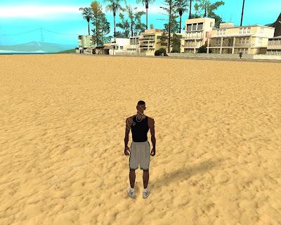 GTA SA - Nova Textura da Praia (New Beach Texture)
