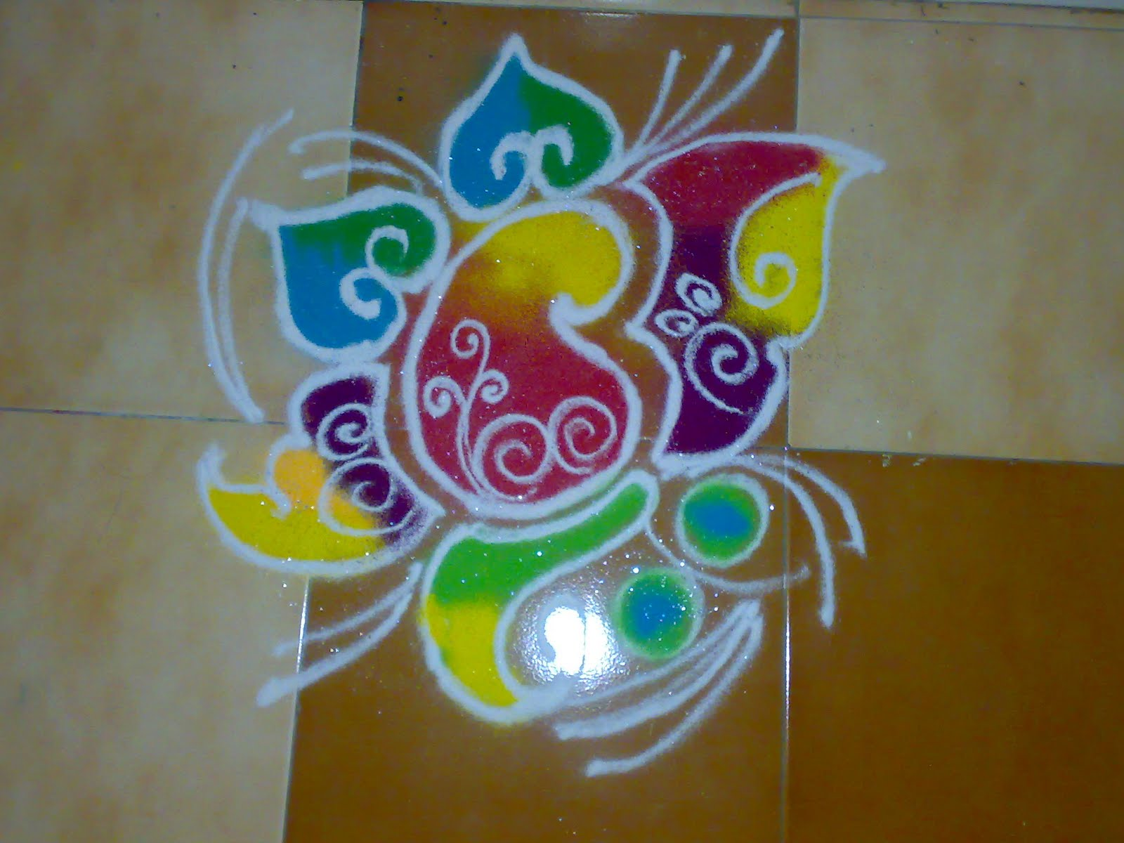 Life Is Full Of COLORS Dont Miss Out Any Rangoli Designs