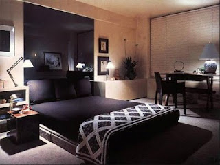 Luxury Bedrooms Modern-Bedroom with big stylish mirror