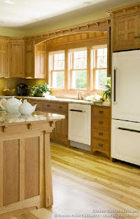 Home And Insurance Vintage Craftsman Kitchen
