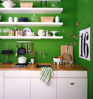 Photos or paint help for a sagey green kitchen color