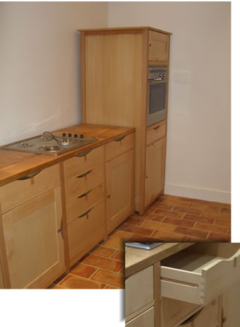 Beech Kitchen Units Solid beech and oak kitchen units. A beech