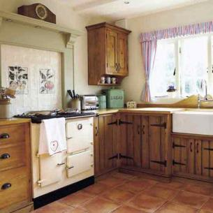 Rustic Kitchen Design on Traditional Country Kitchen Ideas