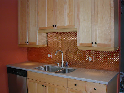 copper tile backsplash The material requires special attention when installed as a backsplash