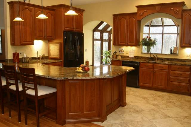 Pictures Of Granite Countertops In Kitchens