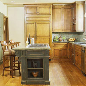 L Shaped Kitchen Designs Horizontal kitchens