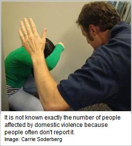 domestic violence image by Carrie Soderberg