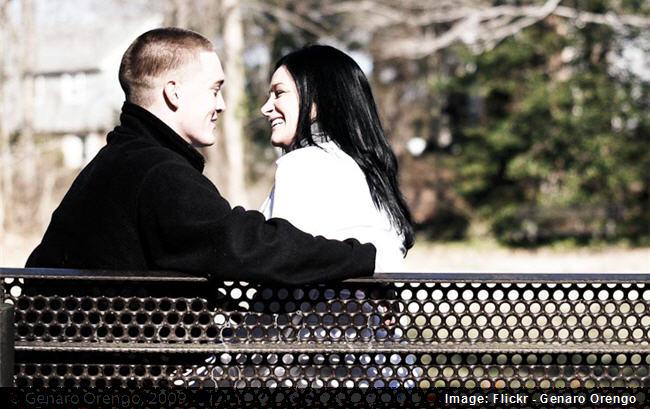 proposing couple