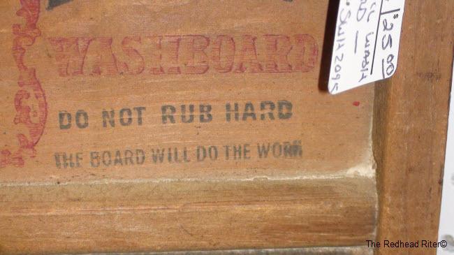 antique washboard