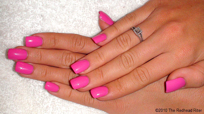 Bubblegum nail polish