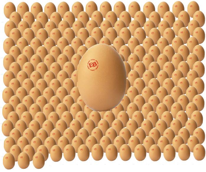 270 eggs