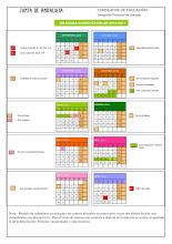 Calendario escolar curso 2012/2013