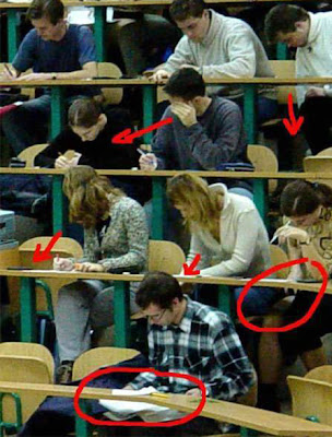 A common college exam... (Funny pic)