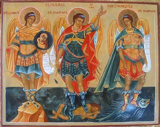 São Gabriel, São Miguel e São Rafael