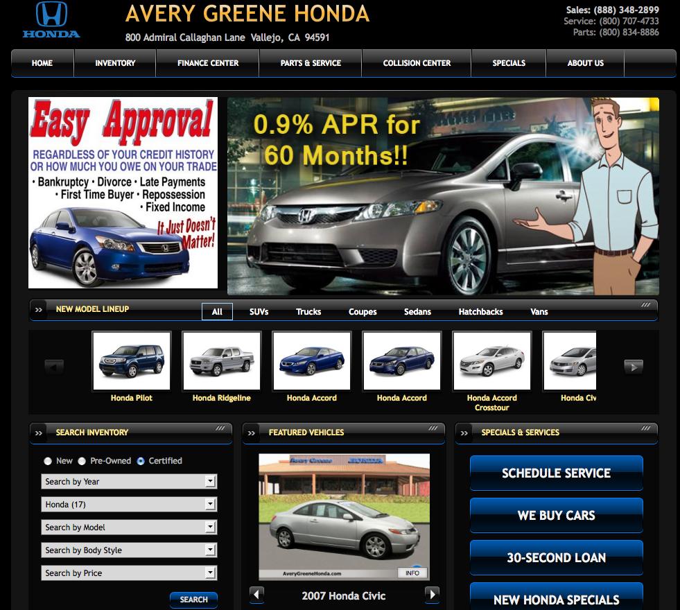 Used Cars For Sale Avery Green Honda Slasher Sale