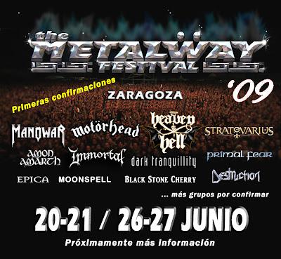 METALWAY, CARTEL CERRADO 1