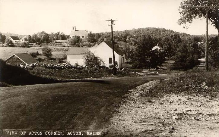 View of Acton Corner%25252C Acton%25252C ME Newark Ohio Digital Club. President / Trustee