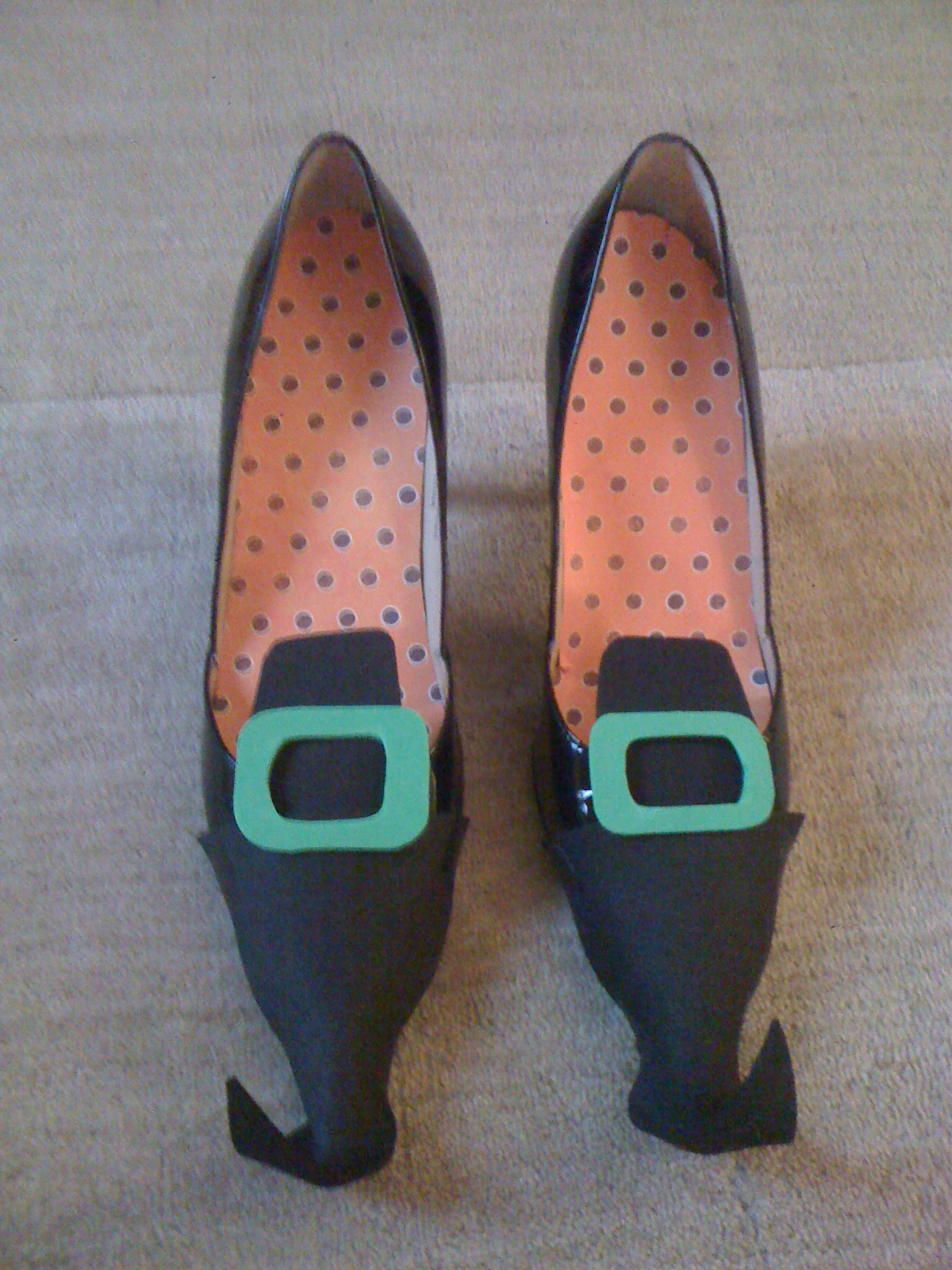 DIY ENTRY #30 Witch Shoes (props)