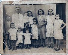 Aurino e sua família