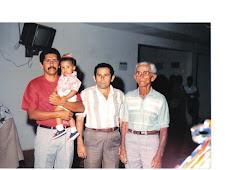 Momentos de Aurino com a sua família