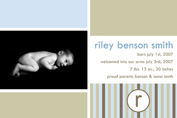 Welcome Riley  Benson Smith!