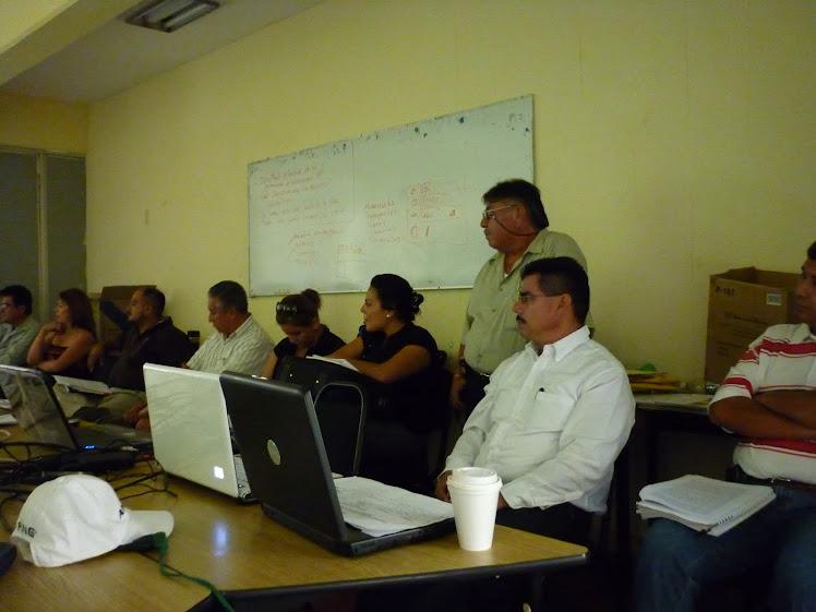 Reunión Academica en el Municipio de La paz BCS de Cultura de la Legalidad