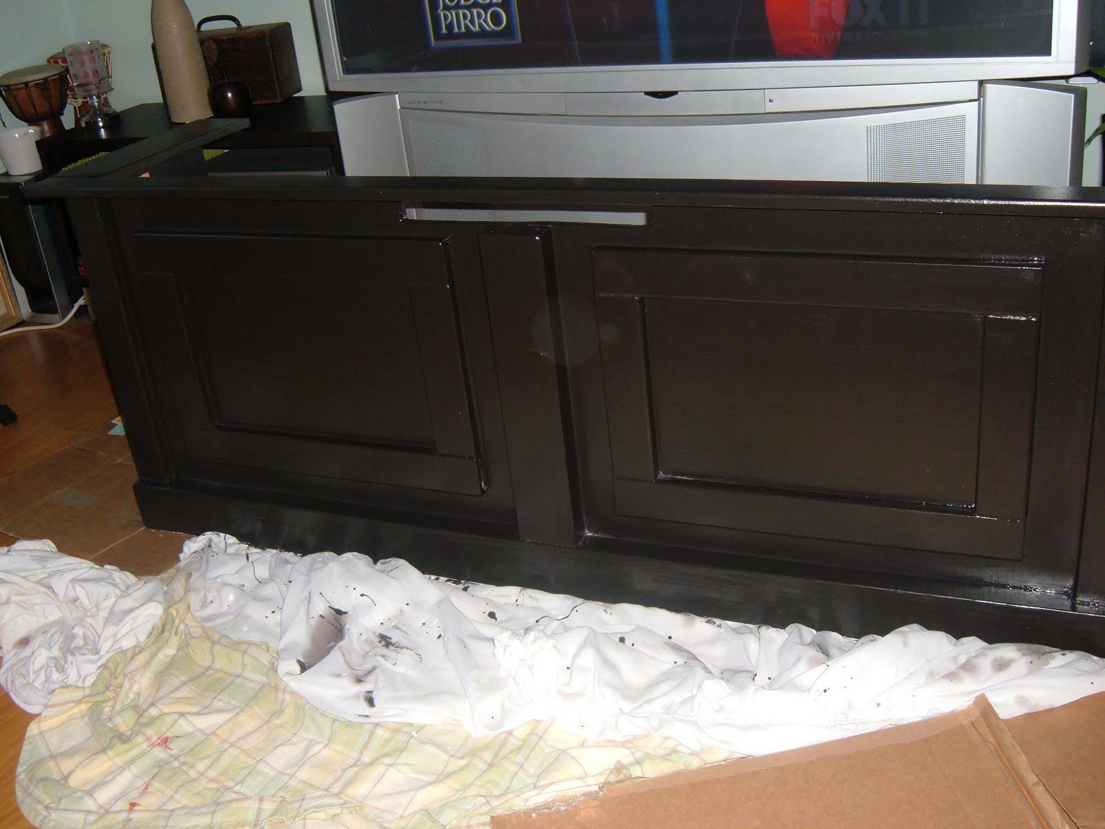 fabdecorators blog homemade tv stand. Black Bedroom Furniture Sets. Home Design Ideas