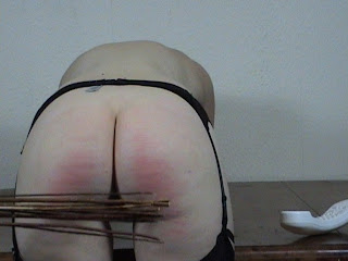 Young Teen spanked and punished