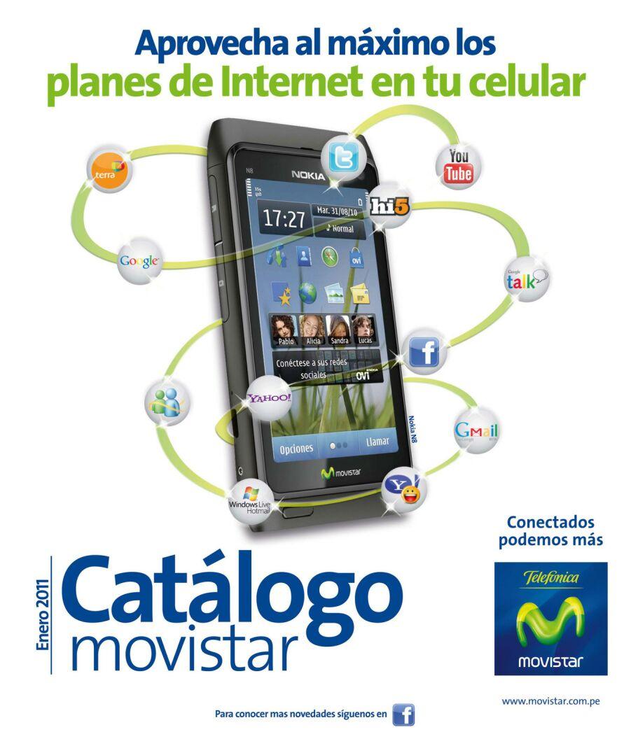 Movistar Perú: Catálogo Movistar Enero 2011