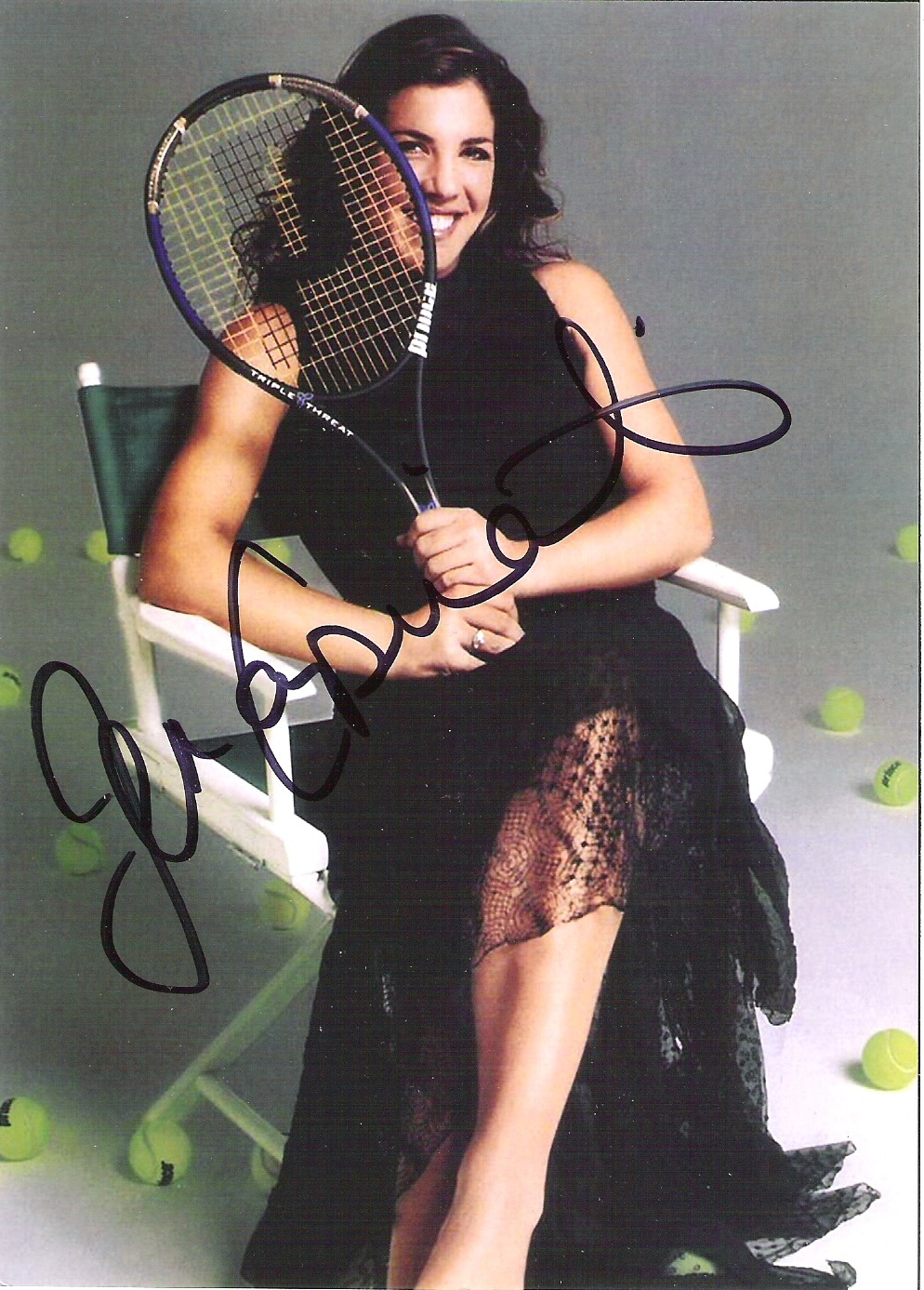 CJ s World The Autographs Jennifer Capriati Tennis