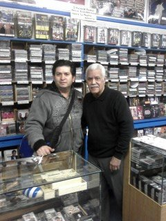 Con El Maestro Mike Amadeo En El Bronx New York.