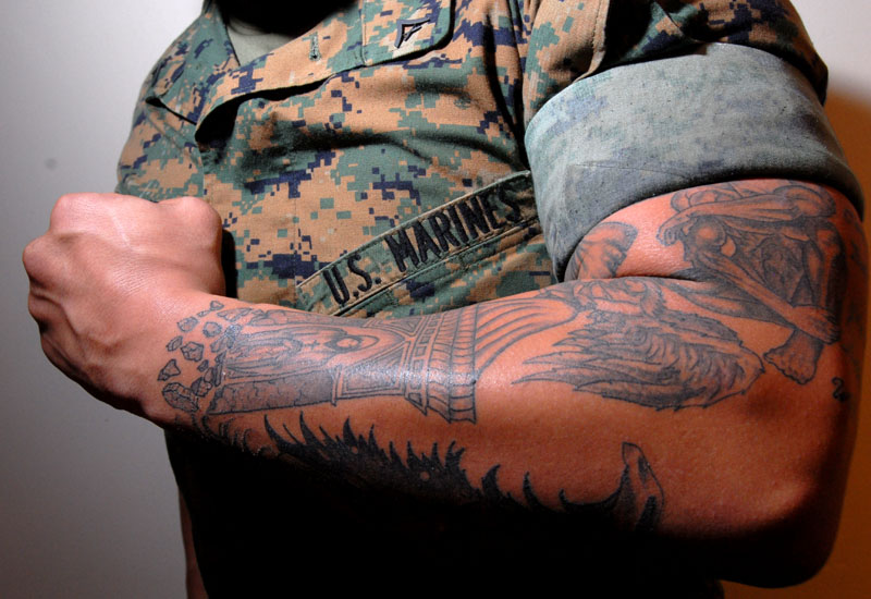 Military Tattoo Designs. Whether you are a retired military service person