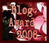 Blog Award 2008