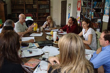 Reunión general Bibliotecas Pedagógicas de Córdoba