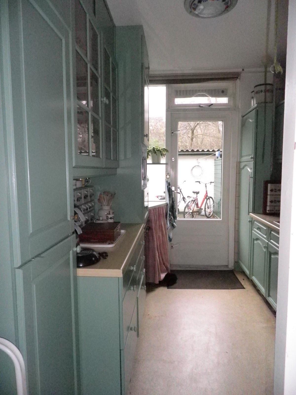 Eiken Keuken Geverfd : Bolusjes huis en honden oude keuken afbreken