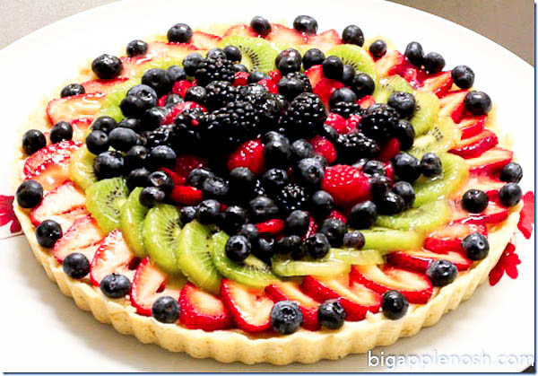 Fresh Fruit: Fresh Fruit Torte