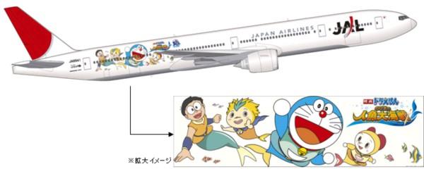 JAL Doraemon Jet
