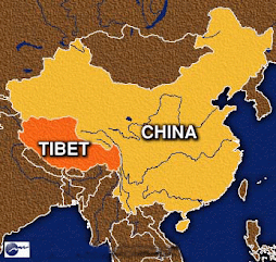 Tibet Map Location