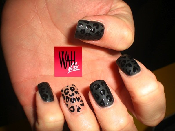 The Awesome Cheetah print colorful nail designs Pics