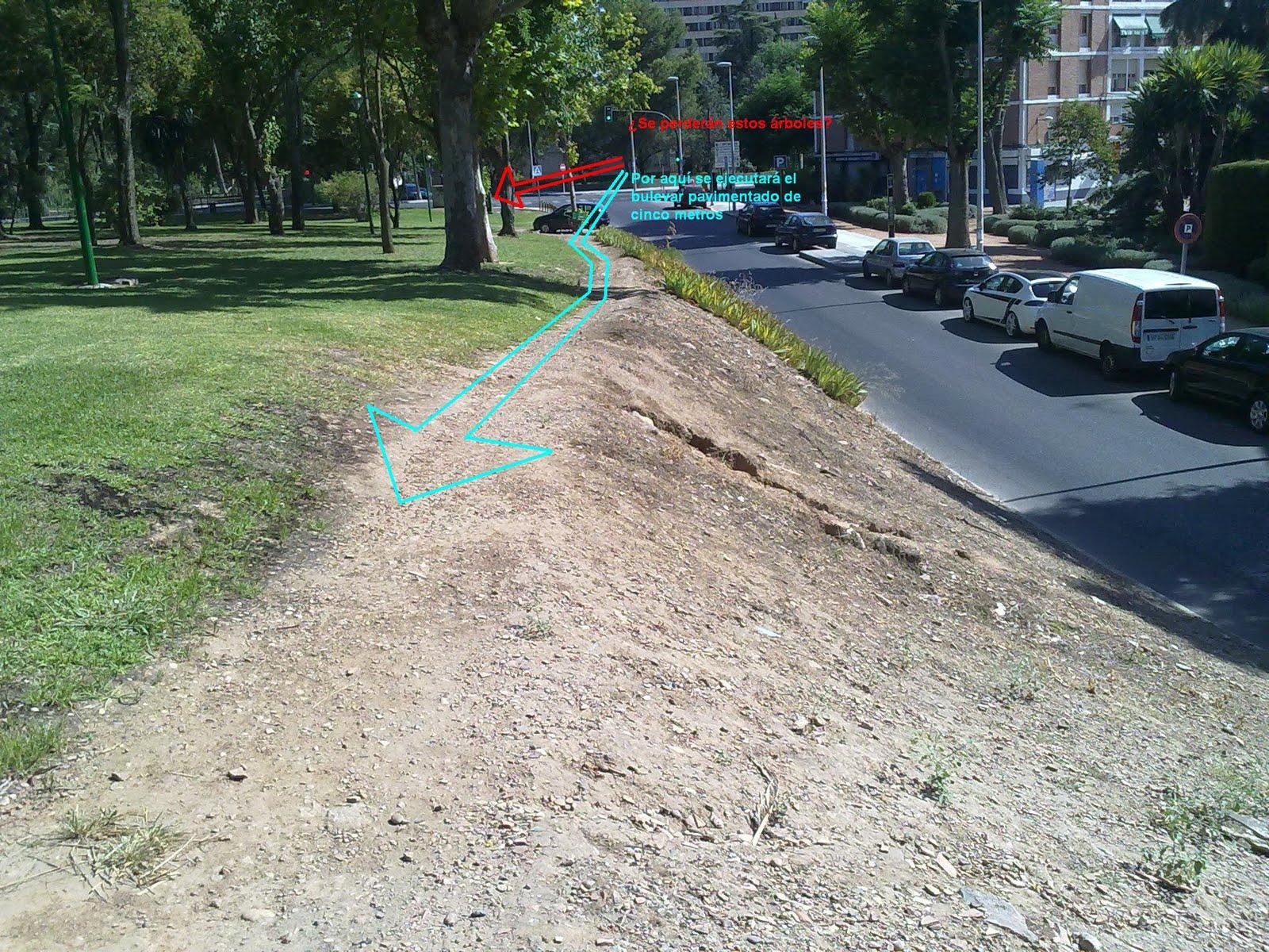 Circuito Parque Cruz Conde Cordoba : Salvemos el parque los nuevos aparcamientos y bulevar