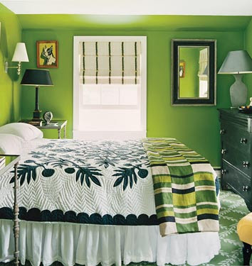 ������� ����� ������ ������2011-���� ������� Grass Green bedroom Dominomagcom.jpg