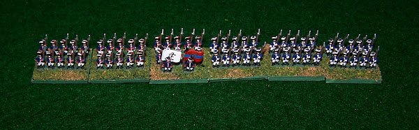 Ferentheil & Kronegk Regiments