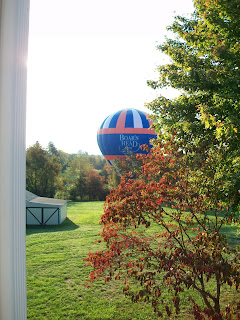 Balloon ride lands on Forsytnia Hill in Charlottesville, Virginia