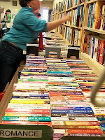 Jefferson Regional Library Book Sale in Charlottesville, Virginia