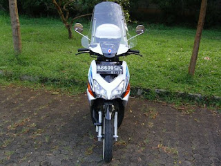Modification Honda Vario Retro 2011